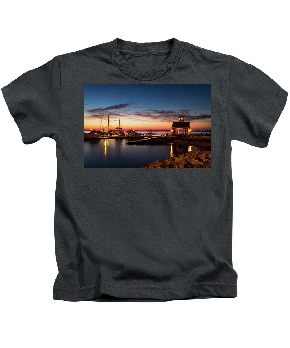 Yorktown Kids T-Shirt featuring the photograph Awaken by James Hardison