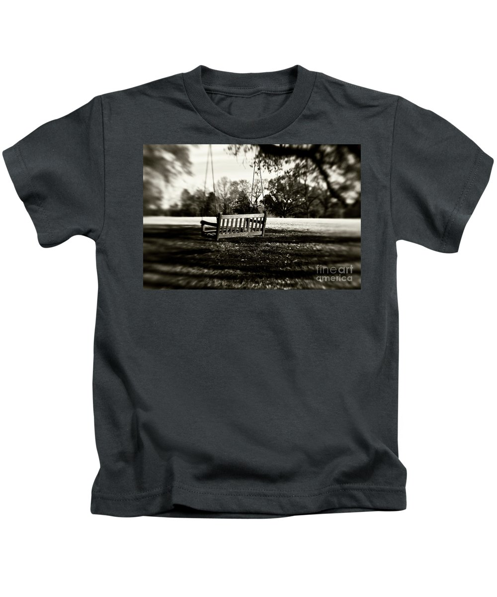 Swing Kids T-Shirt featuring the photograph Country Swing by Scott Pellegrin