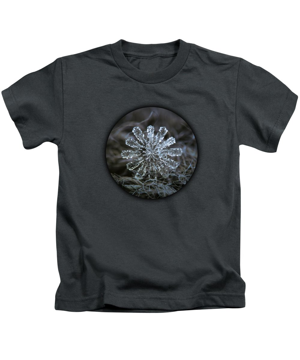 Cold Temperature Photographs Kids T-Shirts