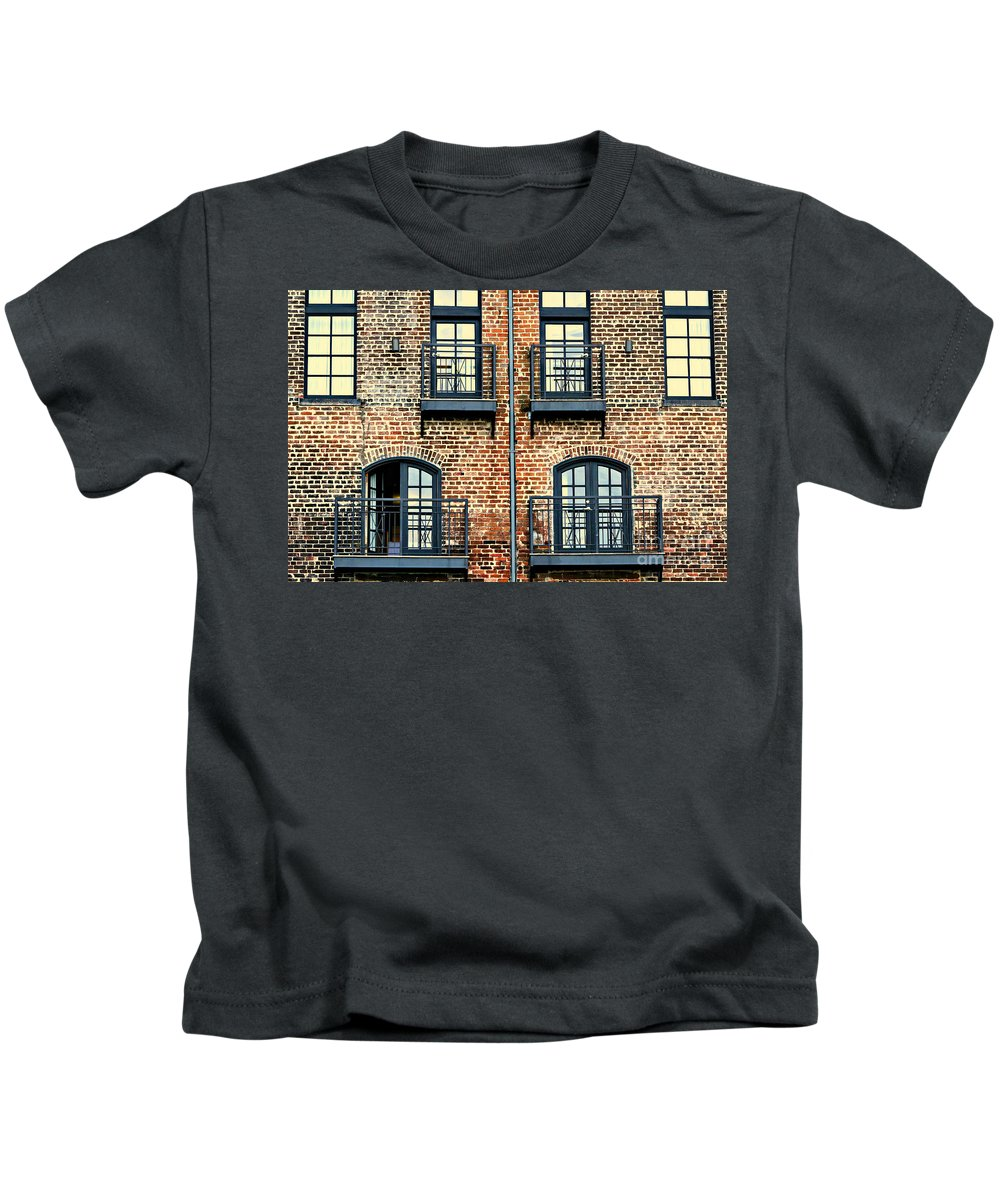 Residence Kids T-Shirt featuring the photograph Door's Open Come On In by Diann Fisher