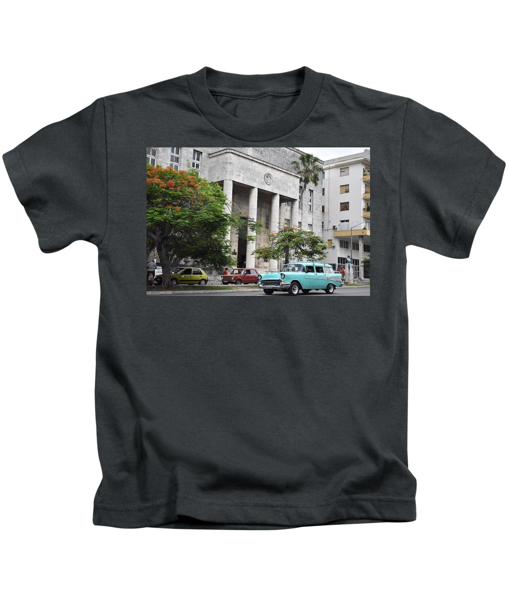 Havana Kids T-Shirt featuring the photograph Havana by Cassidy Marshall