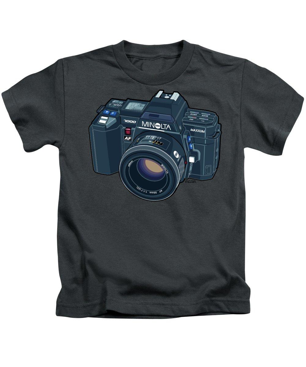 35mm Film Kids T-Shirts