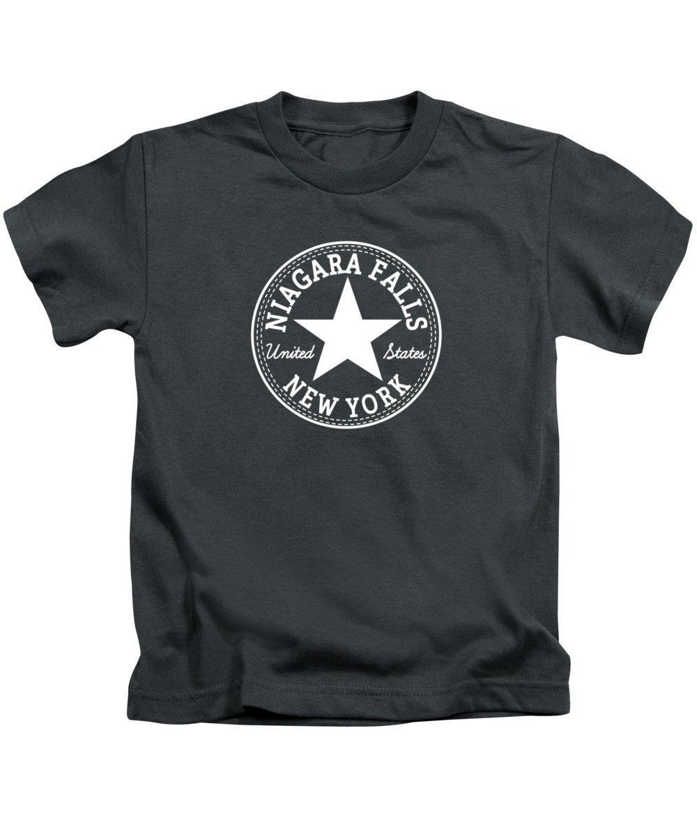 Niagara Falls Kids T-Shirts
