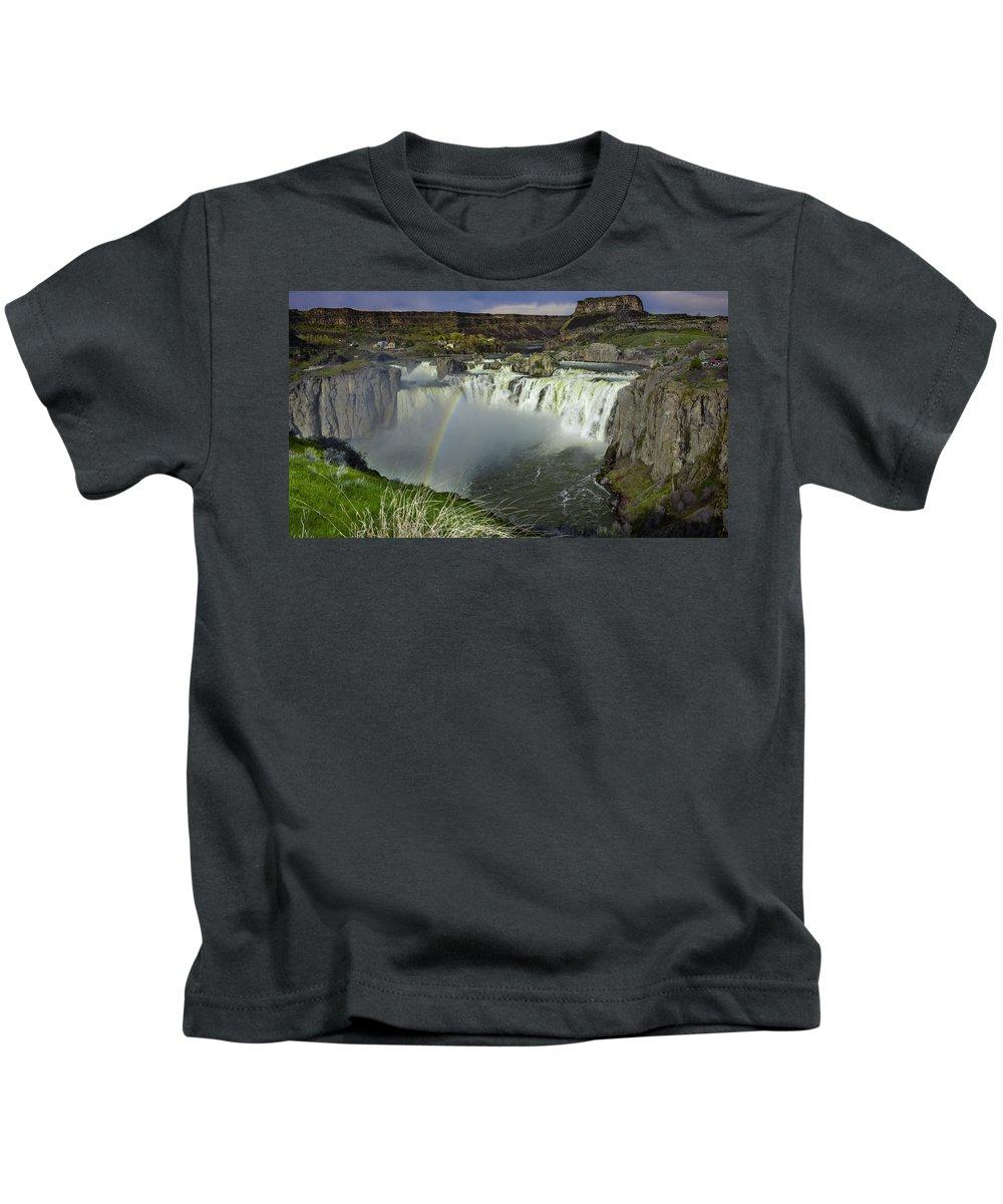 Kids T-Shirt featuring the photograph Pot Of Gold by Dan Kinghorn