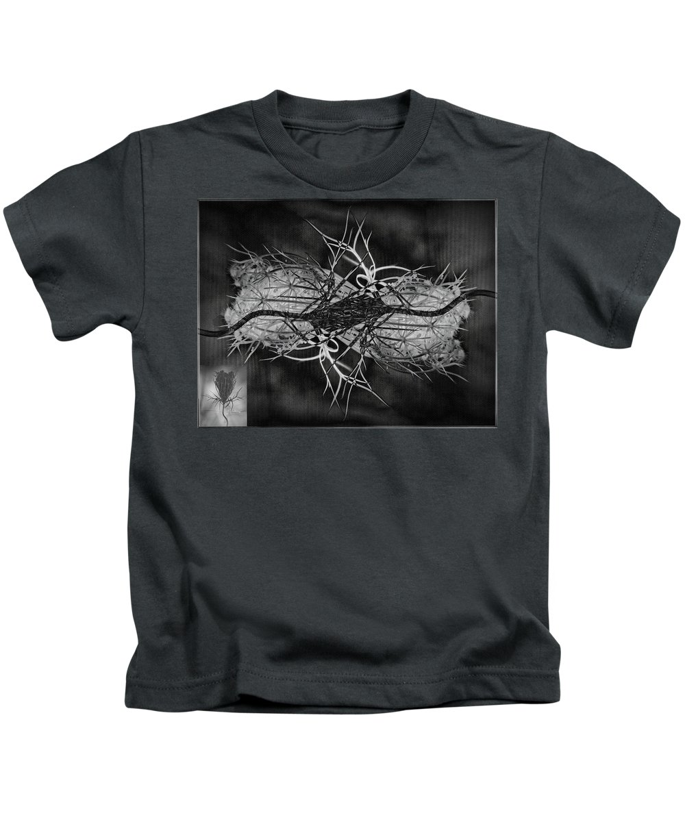 Plant Kids T-Shirt featuring the photograph Seeds by Allyson Schwartz