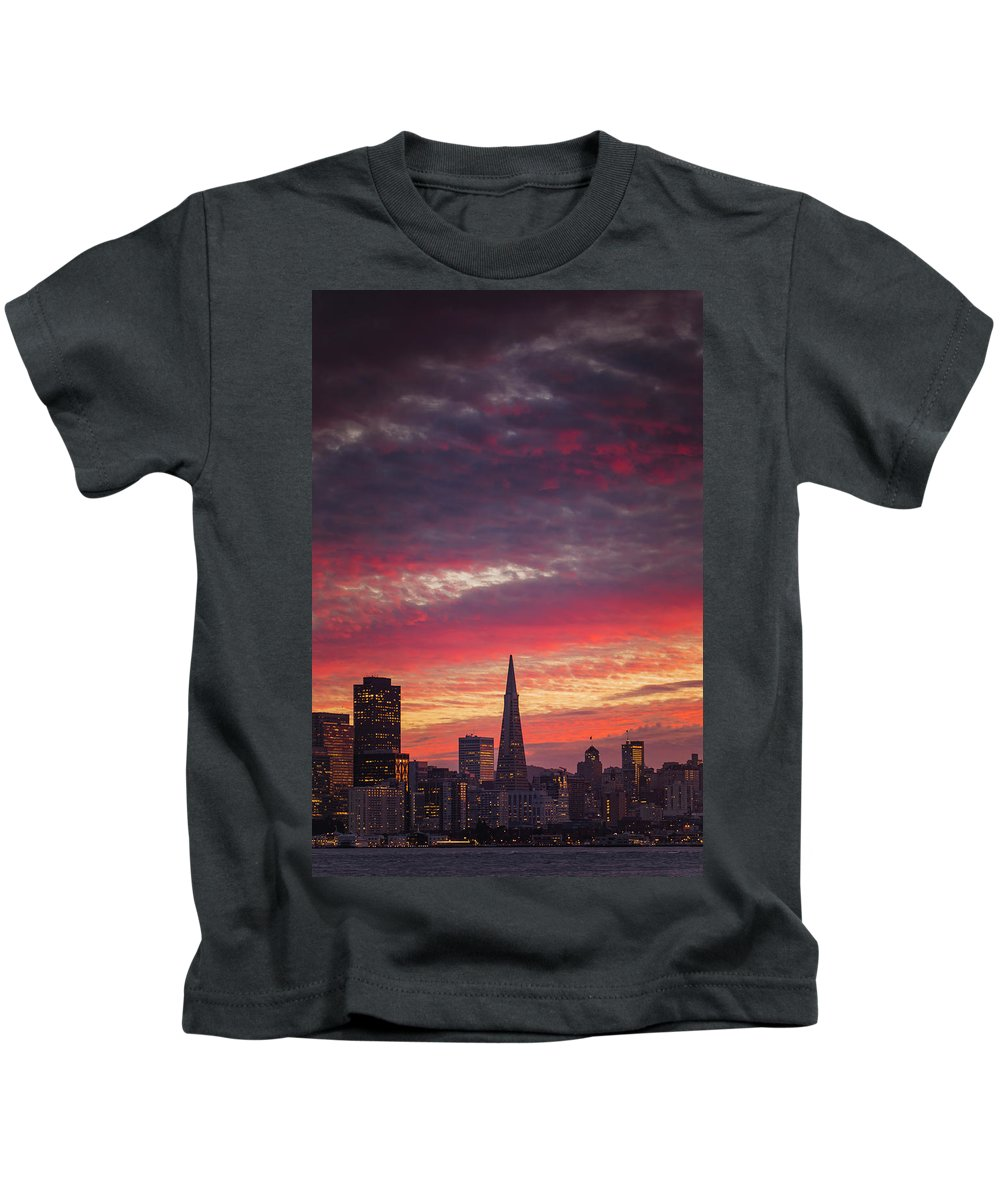 Kids T-Shirt featuring the photograph Sweet Slice Of Sf Life by Vincent James