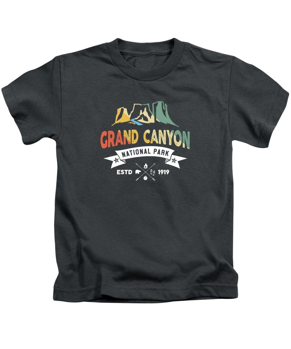Grand Canyon National Park Kids T-Shirts