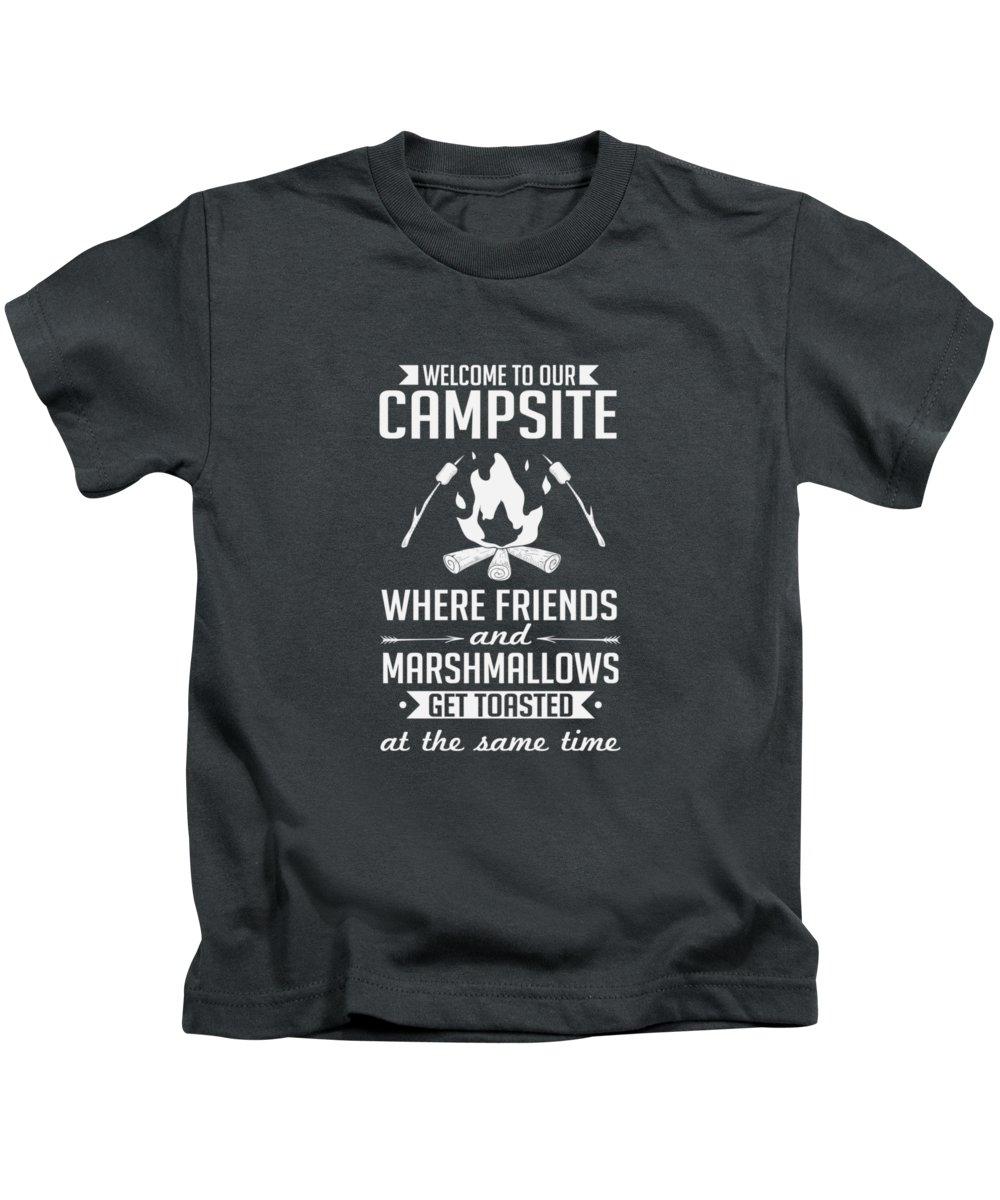 Campsites Kids T-Shirts