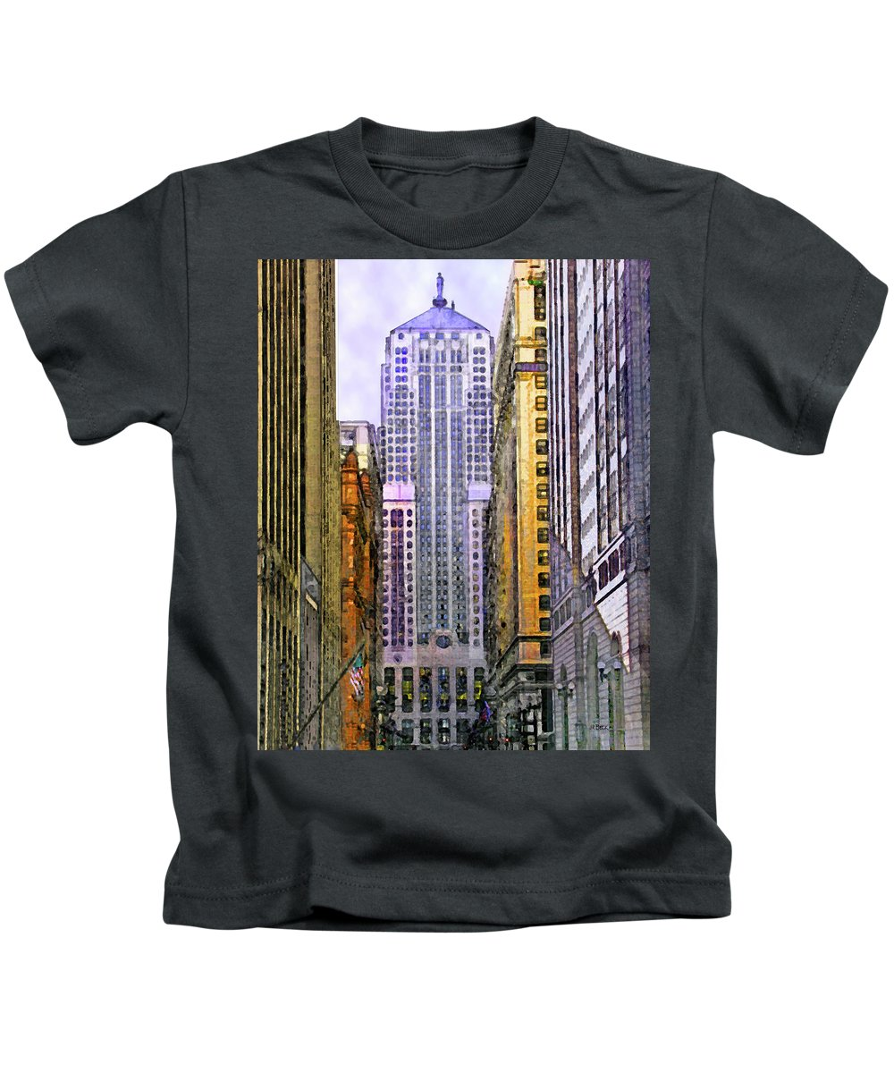 Trading Places Kids T-Shirt featuring the digital art Trading Places by John Robert Beck
