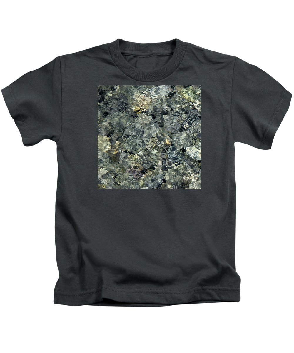 Water Kids T-Shirt featuring the photograph Water Rocks 1 by Andre Aleksis