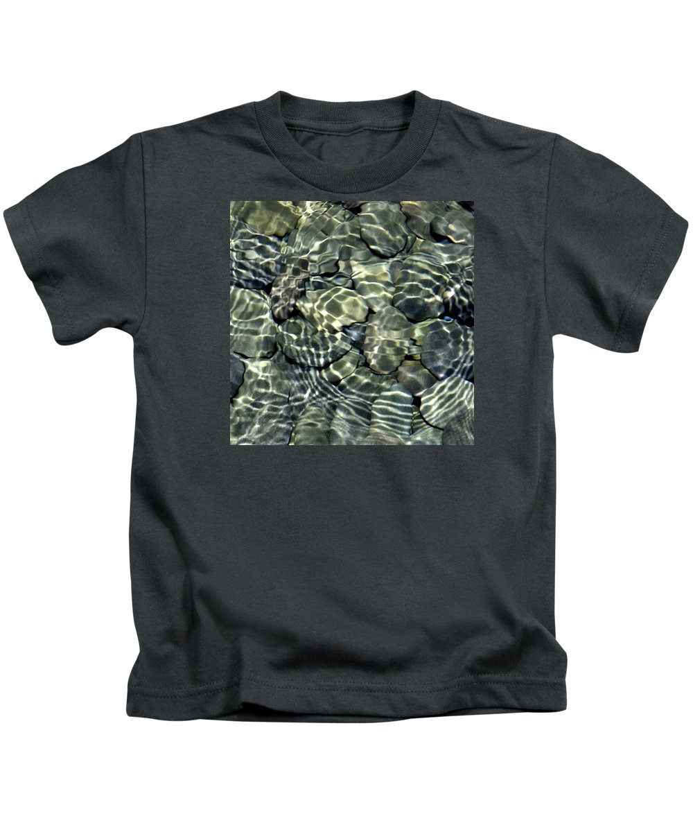 Water Kids T-Shirt featuring the photograph Water Rocks 2 by Andre Aleksis