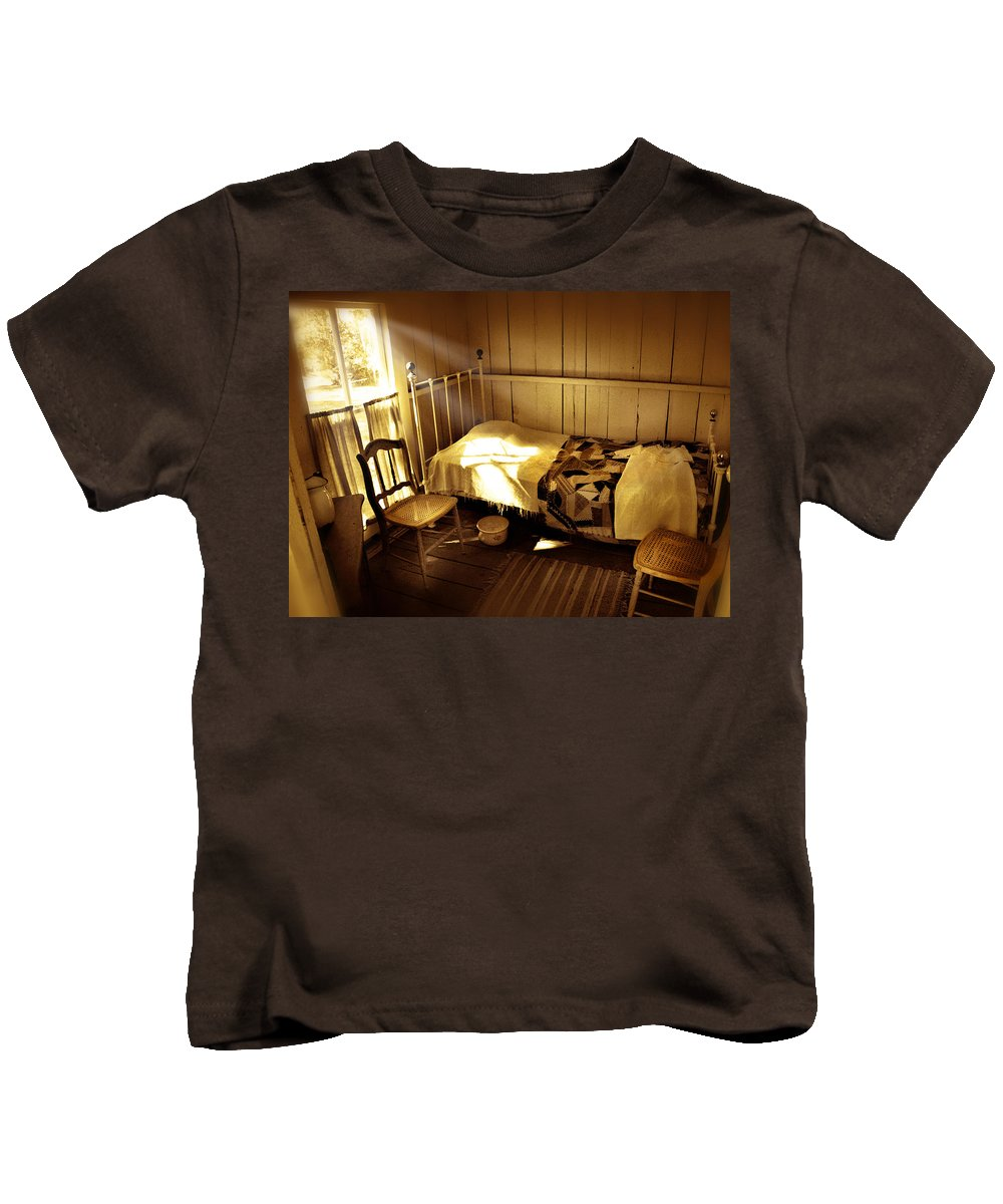 Bedroom Kids T-Shirt featuring the photograph Dreams by Mal Bray
