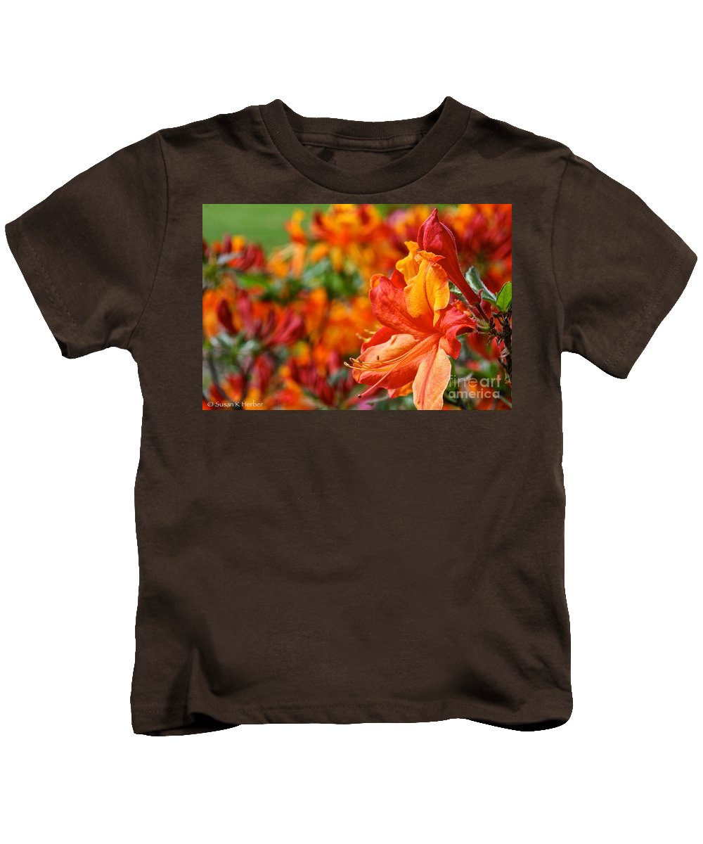 Flower Kids T-Shirt featuring the photograph Torch by Susan Herber
