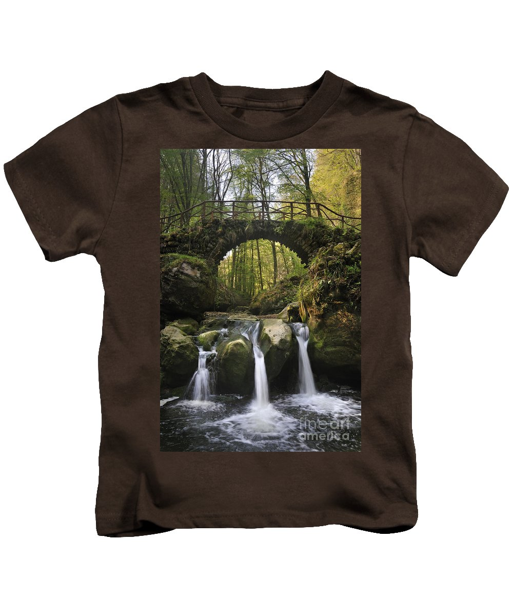 Schiessent�mpel Kids T-Shirt featuring the photograph 110414p155 by Arterra Picture Library