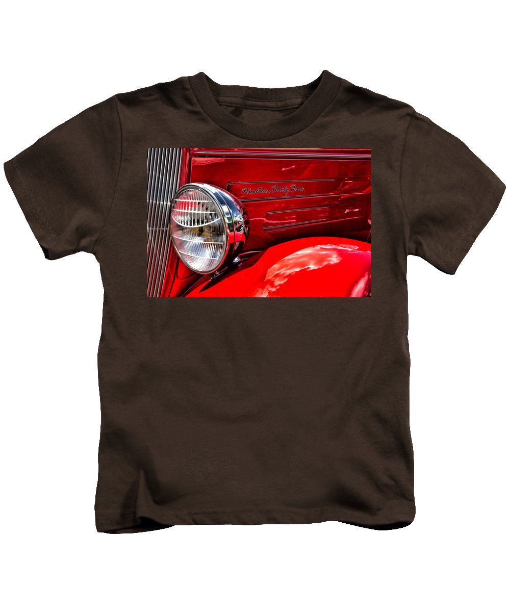 American Kids T-Shirt featuring the photograph 1933 by Russ Dixon