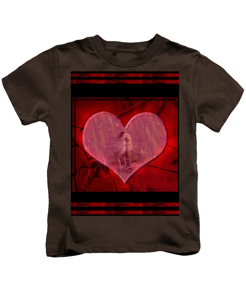 Nude Kids T-Shirt featuring the photograph My Hearts Desire by Kurt Van Wagner
