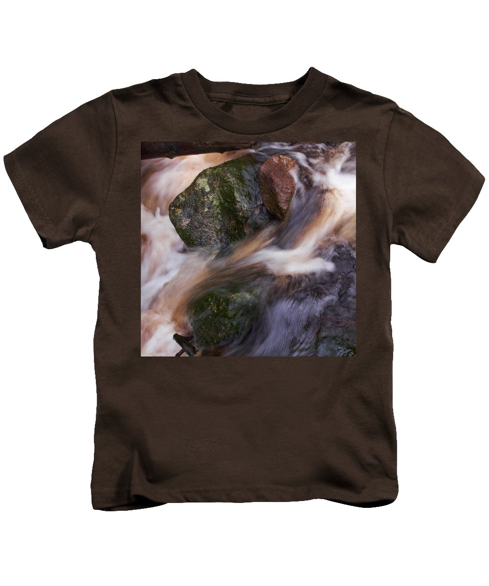 Liesijoki Kids T-Shirt featuring the photograph Old Mill Canal by Jouko Lehto