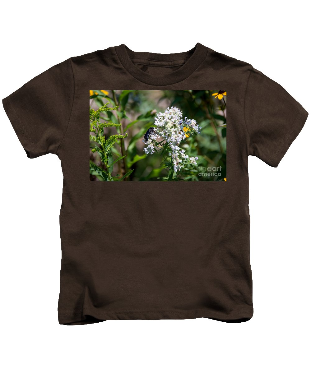 South Dakota Kids T-Shirt featuring the photograph 21826 by M Dale