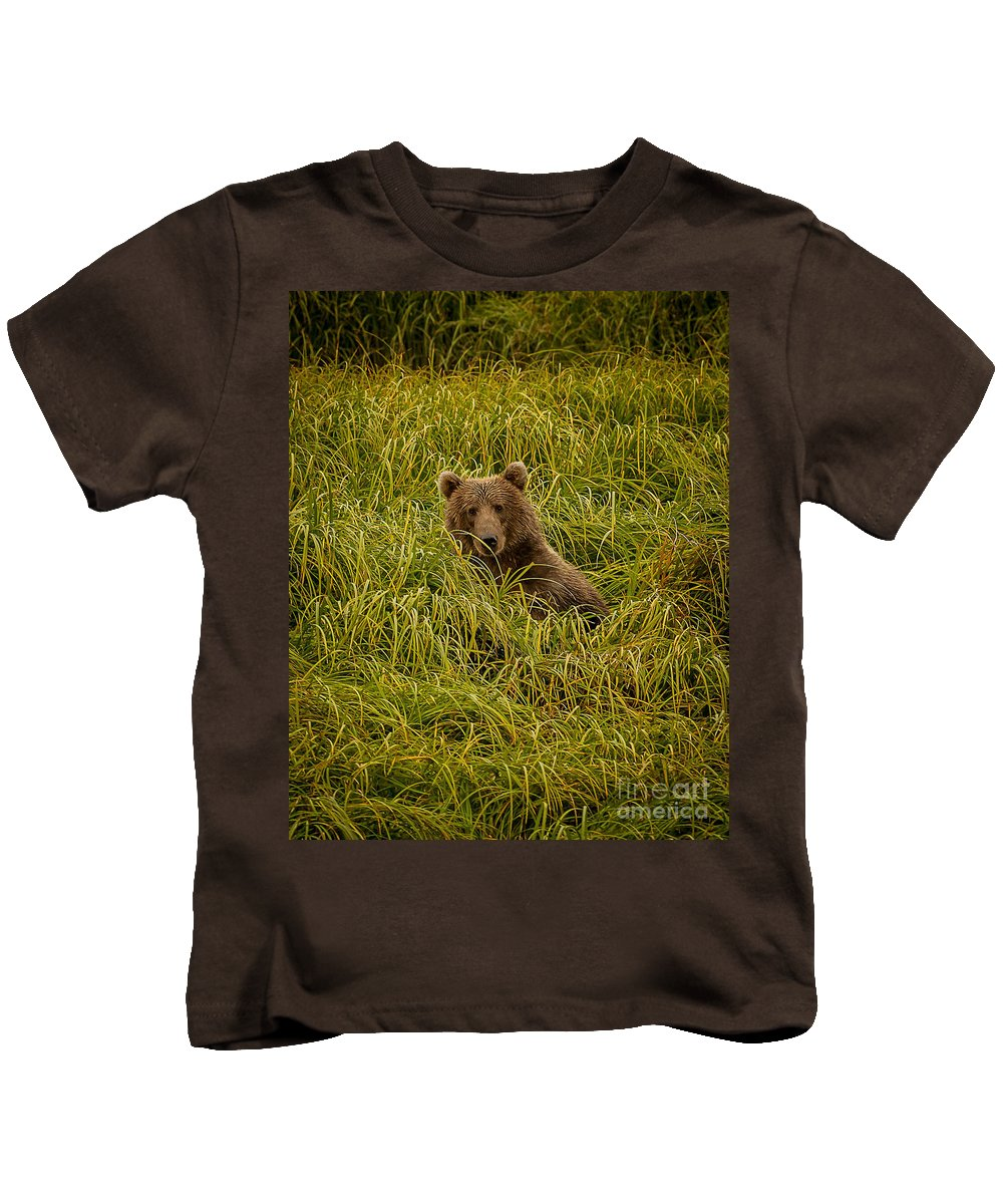 Nature Kids T-Shirt featuring the photograph Hi There by Steven Reed