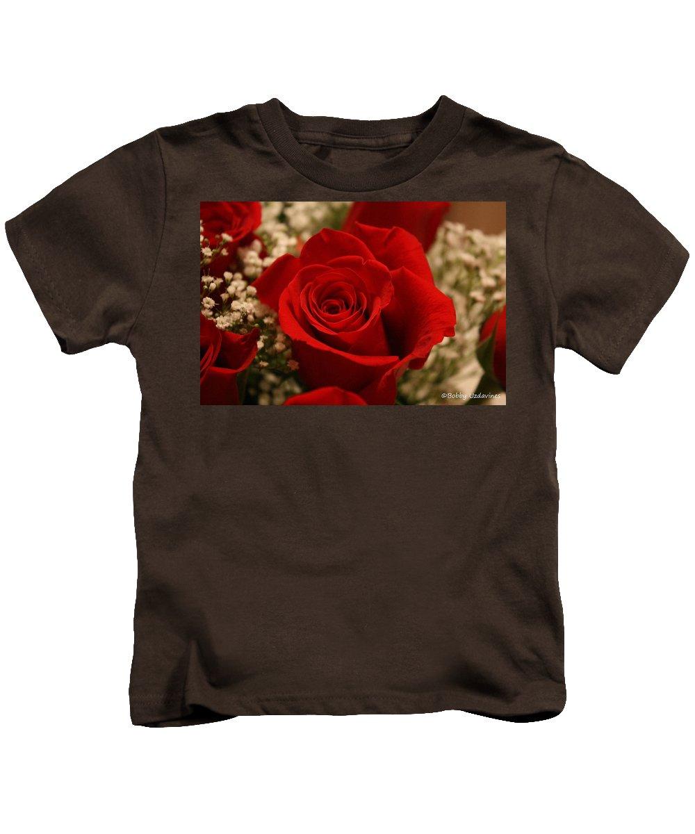 Kids T-Shirt featuring the photograph Beautiful Rose by Bobby Uzdavines