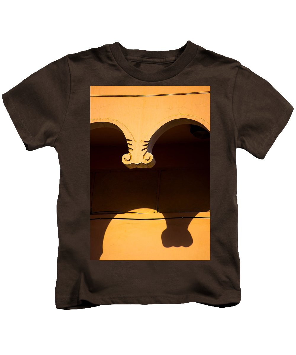 Less Elements Kids T-Shirt featuring the photograph Behind The Curve by Prakash Ghai