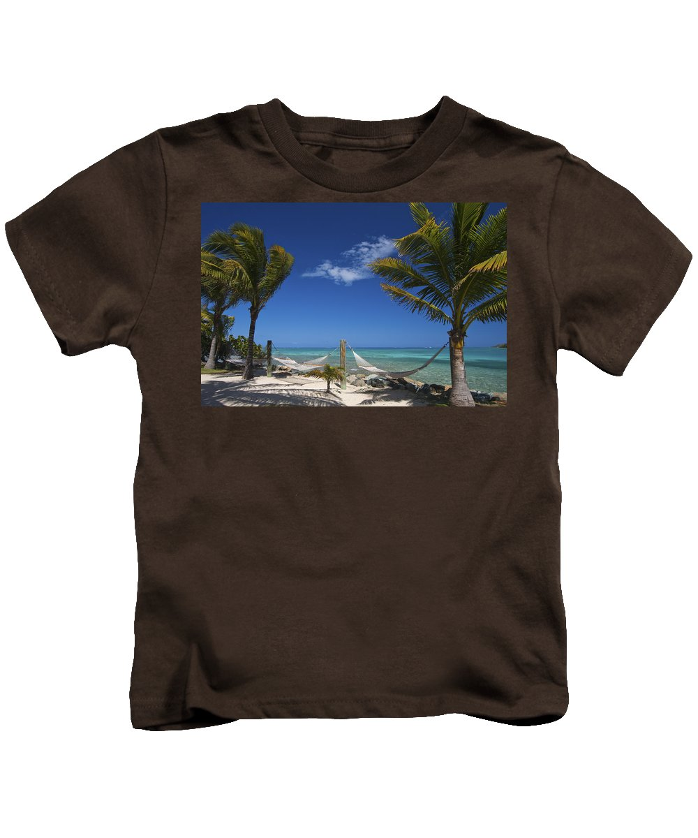 3scape Kids T-Shirt featuring the photograph Breezy Island Life by Adam Romanowicz