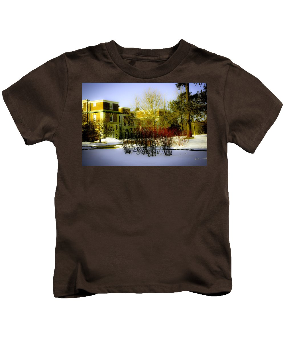 Canyon Ranch Kids T-Shirt featuring the photograph Canyon Ranch - Berkshires - Massachusetts by Madeline Ellis