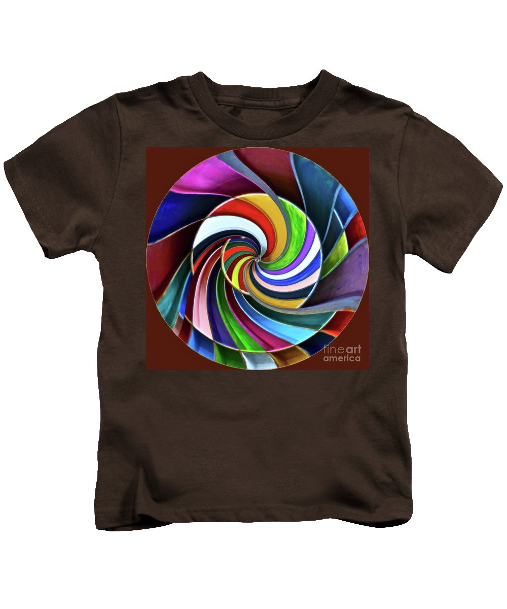 Color Kids T-Shirt featuring the digital art Color Me Again by Gwyn Newcombe