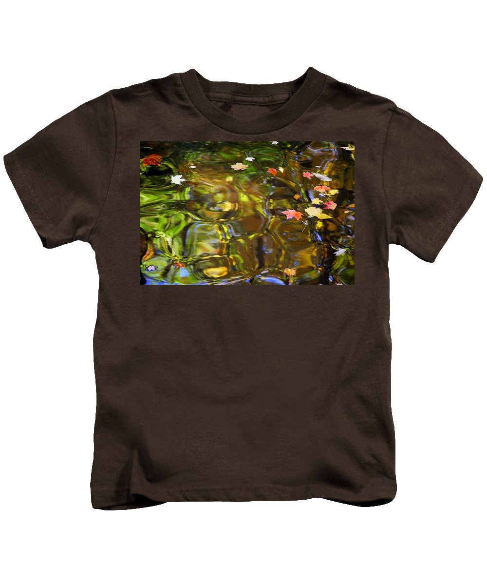 Carmel Kids T-Shirt featuring the photograph Colorful Carmel by Frozen in Time Fine Art Photography
