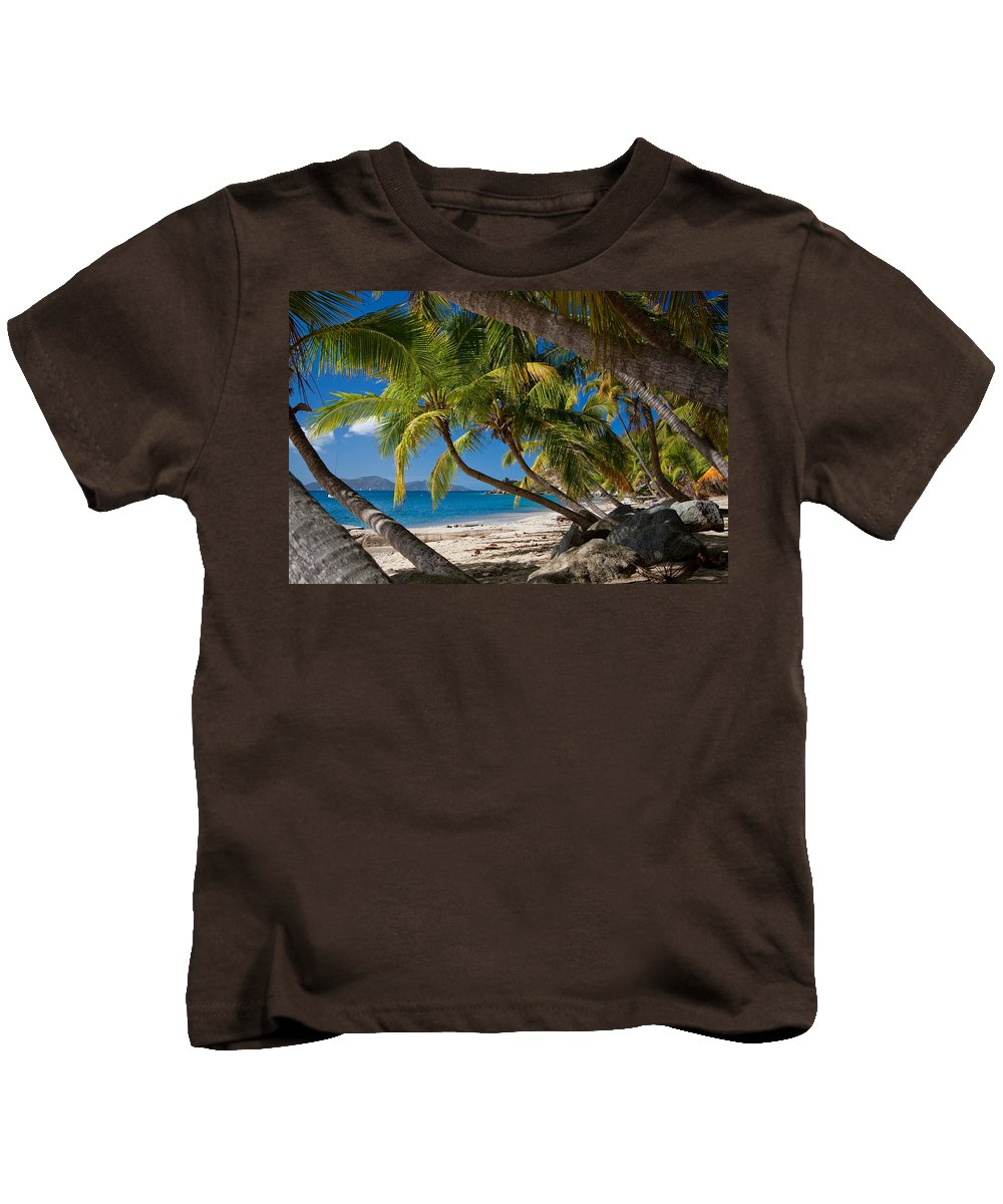 3scape Kids T-Shirt featuring the photograph Cooper Island by Adam Romanowicz