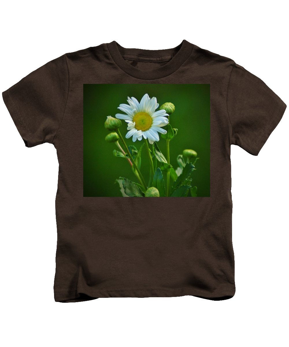 Bloom Kids T-Shirt featuring the photograph Daisy by Bob Geary