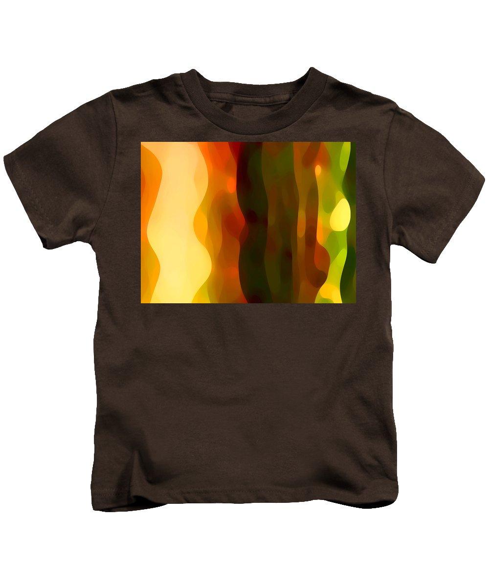 Bold Kids T-Shirt featuring the painting Desert Pattern 1 by Amy Vangsgard