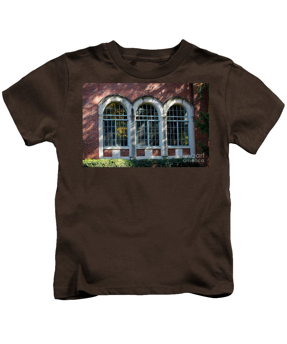 Fall Kids T-Shirt featuring the photograph Dorm by Joseph Yarbrough