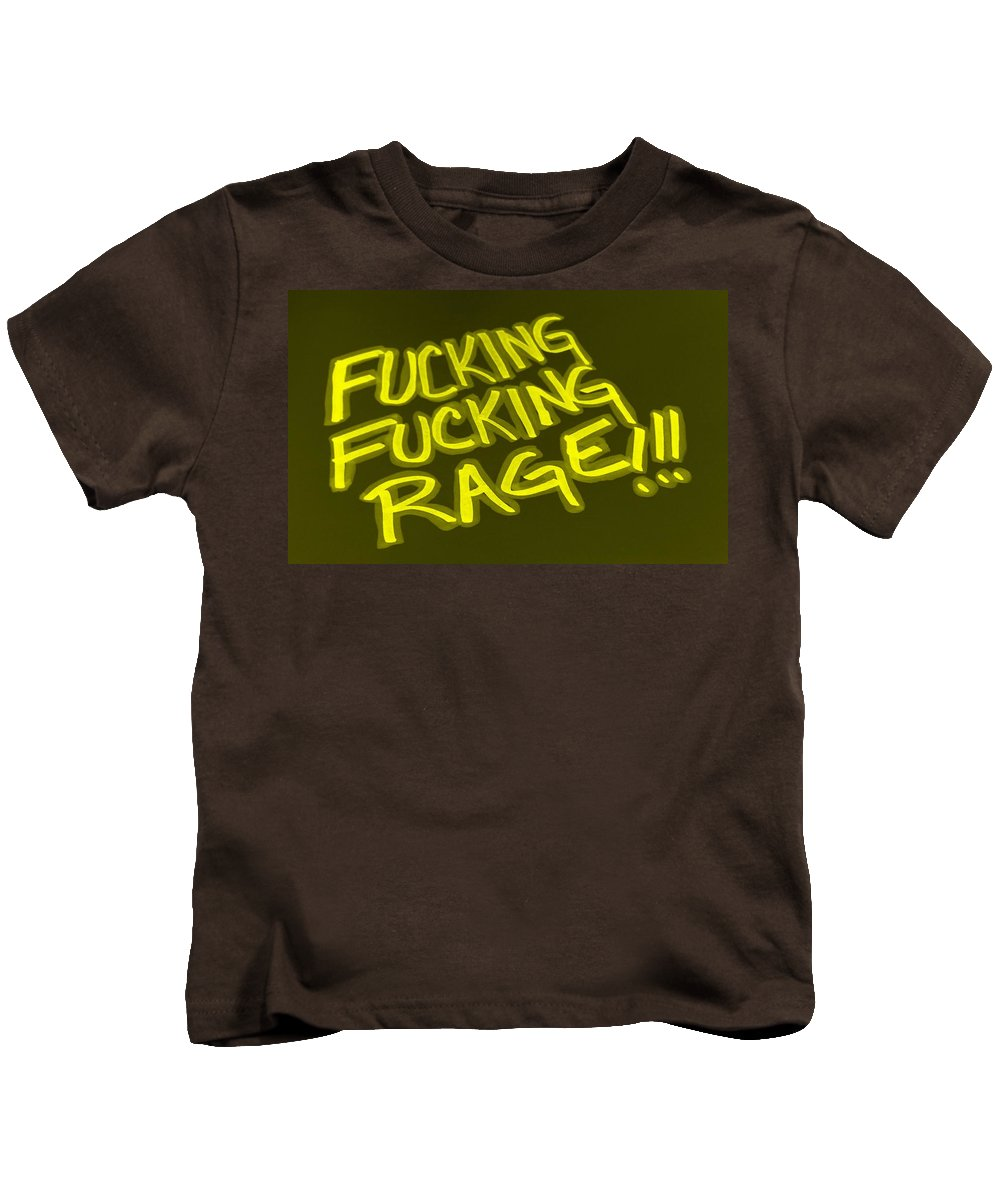 Fuck Kids T-Shirt featuring the photograph F F R Yellow by Rob Hans