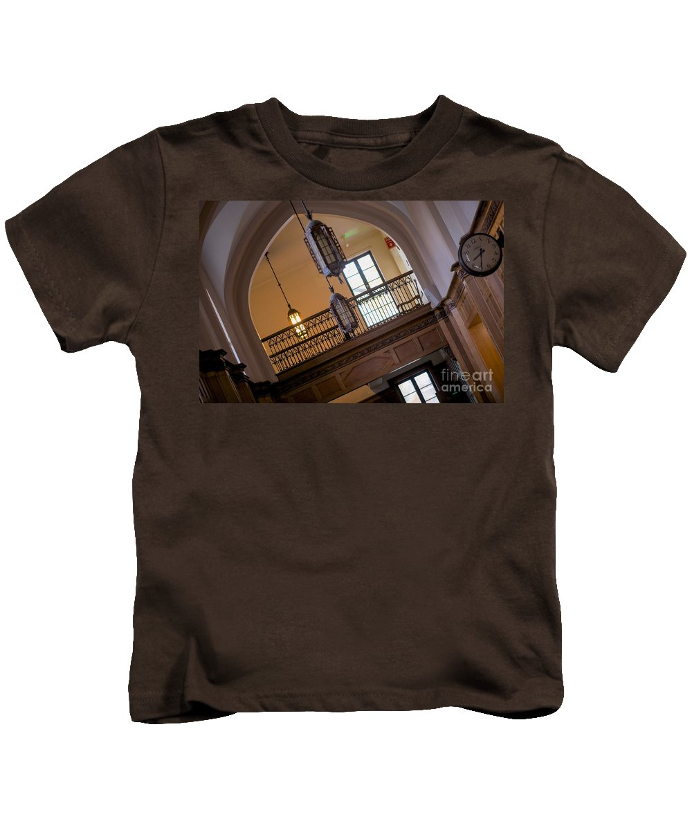Copper Kids T-Shirt featuring the photograph Fairchild by Joseph Yarbrough