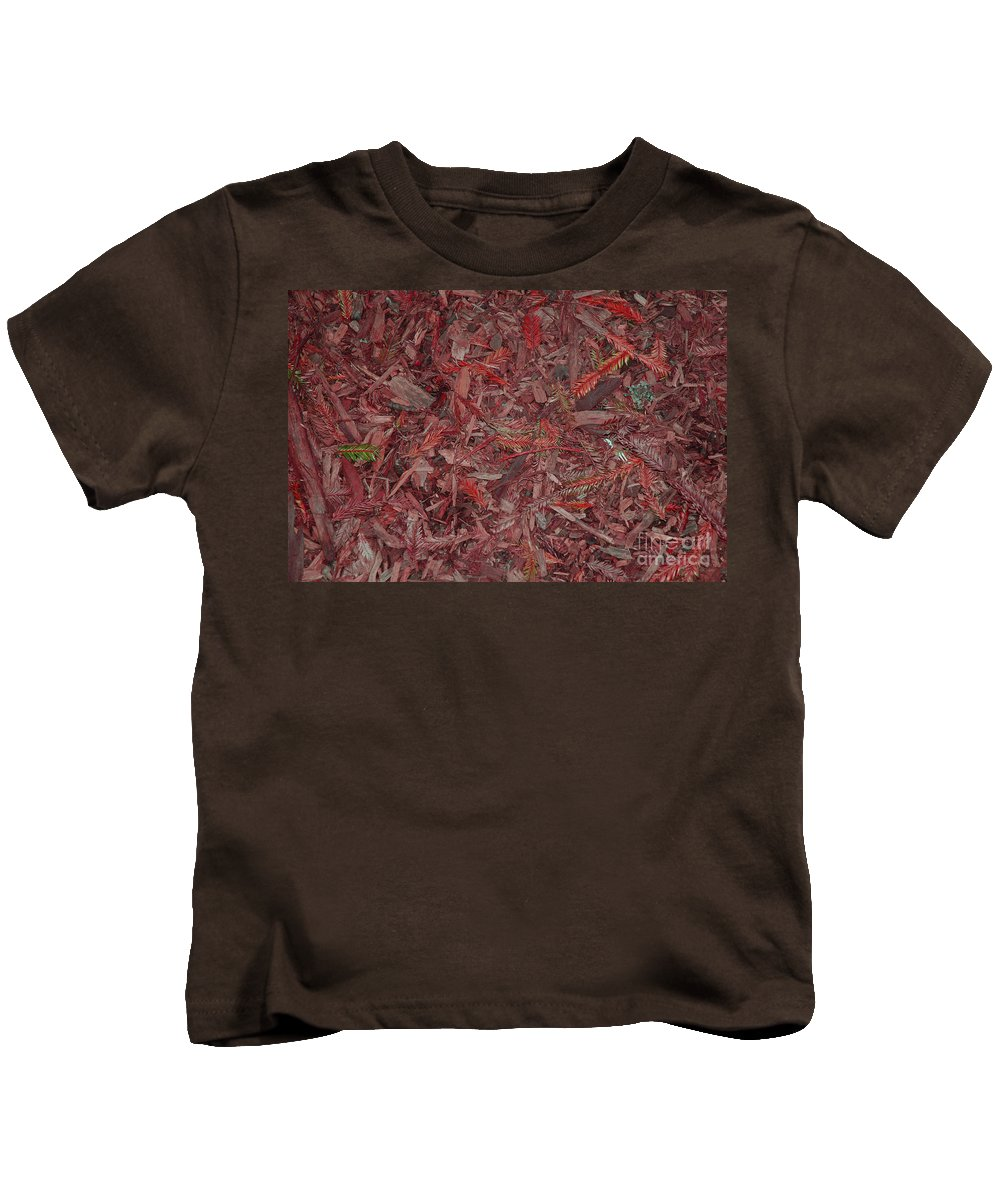 Fall Leaves Kids T-Shirt featuring the photograph Fall Leaves by Mini Arora