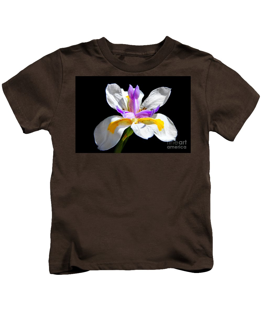 Fortnight Lily Kids T-Shirt featuring the photograph Fortnight Lily by Mariola Bitner