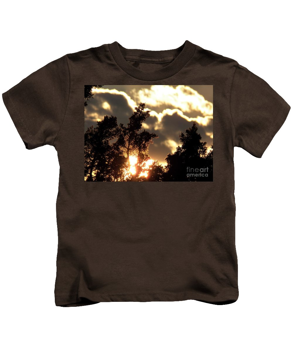 Sky Kids T-Shirt featuring the photograph Glow by Brian Commerford