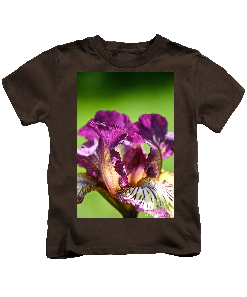 Flower Kids T-Shirt featuring the photograph Gnu You by Susan Herber