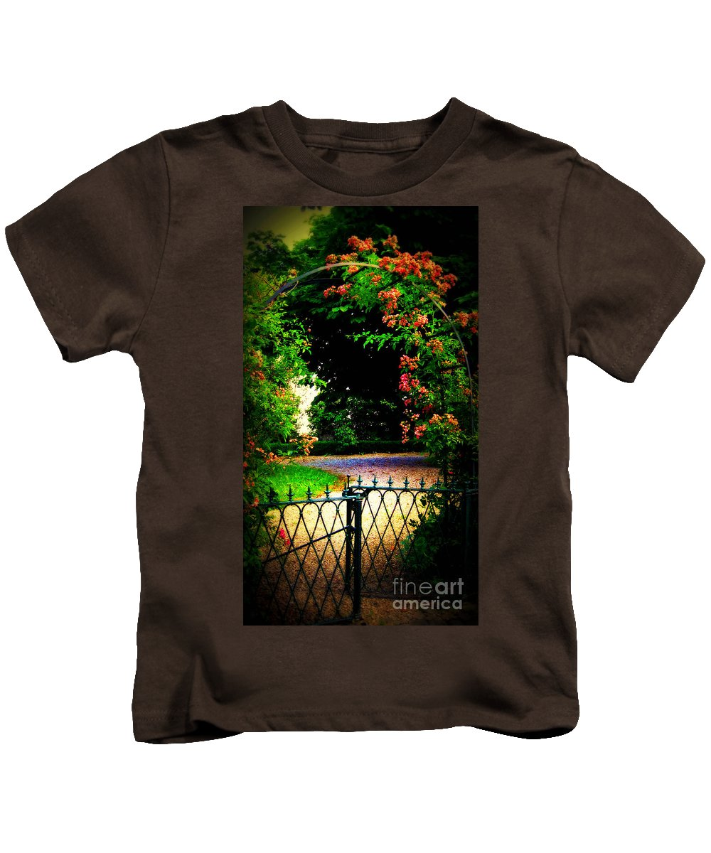 Go And Smell The Roses Kids T-Shirt featuring the photograph Go And Smell The Roses by Susanne Van Hulst