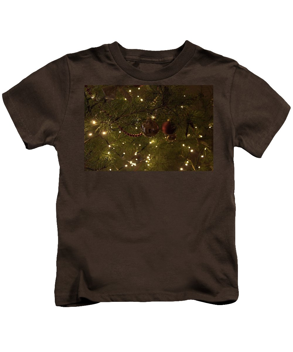 Christmas Kids T-Shirt featuring the photograph Holiday Sparkle by Daniel Jakus