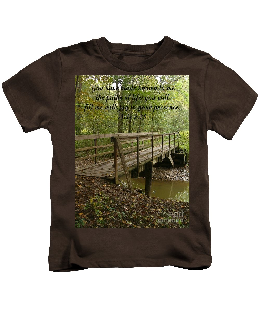 Bible Kids T-Shirt featuring the photograph Inspirations 4 by Sara Raber
