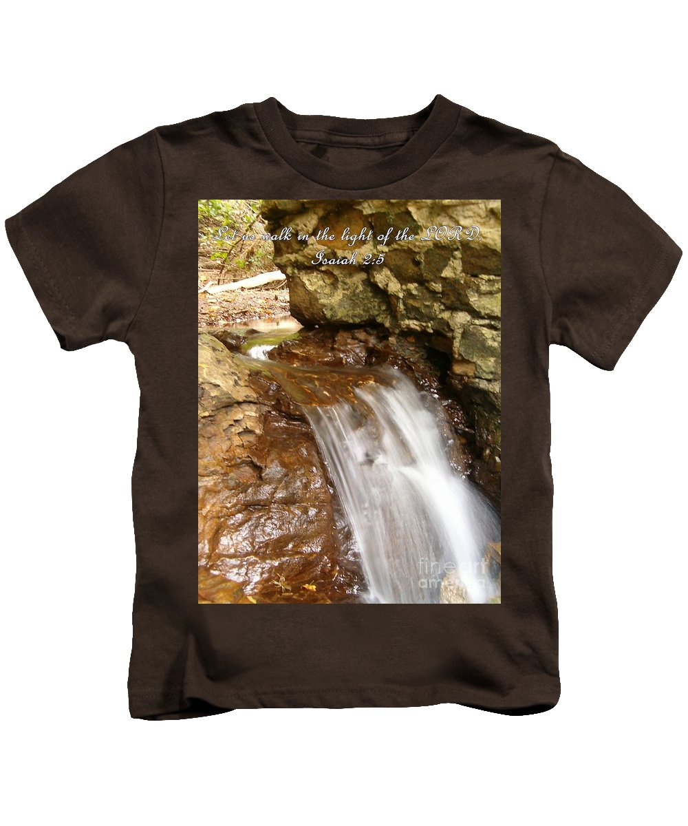 Water Kids T-Shirt featuring the photograph Inspirations 8 by Sara Raber