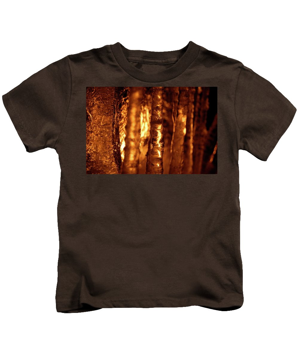 Fire And Icefire Kids T-Shirt featuring the photograph Jammer Fire And Ice 001 by First Star Art