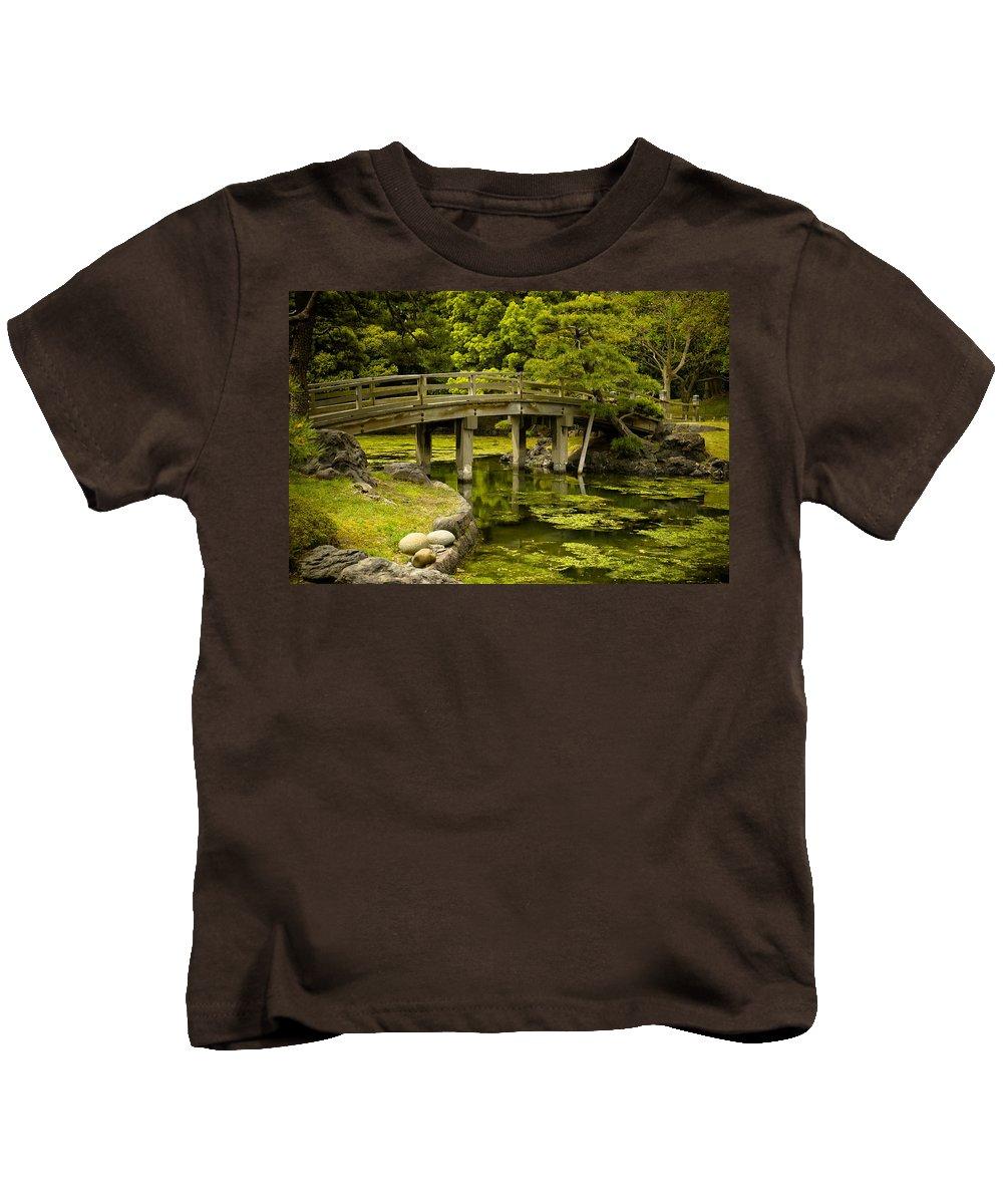 Japan Kids T-Shirt featuring the photograph Japanese Garden Tokyo by Sebastian Musial