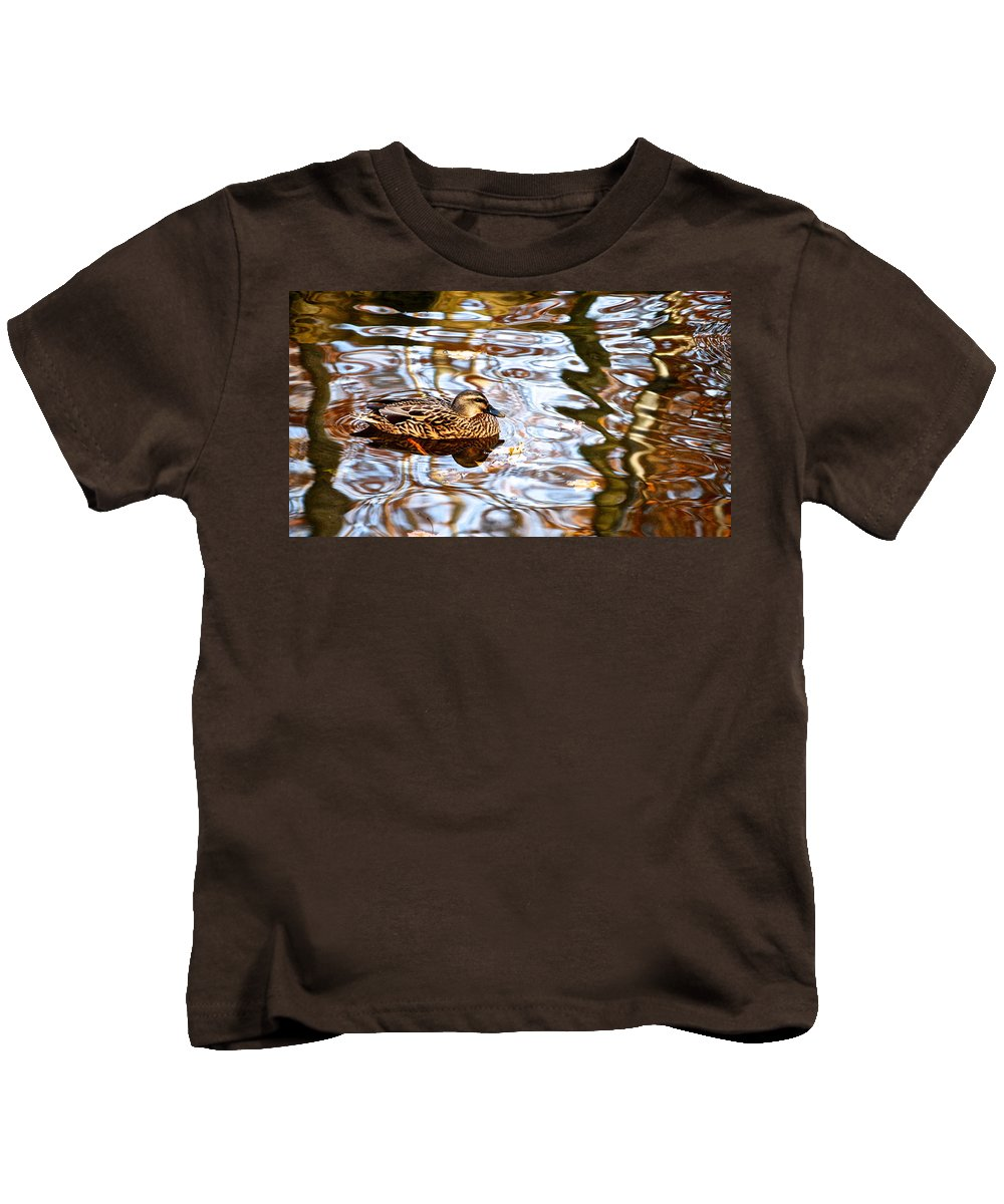 Jungle Kids T-Shirt featuring the photograph Jungle Water by Frozen in Time Fine Art Photography