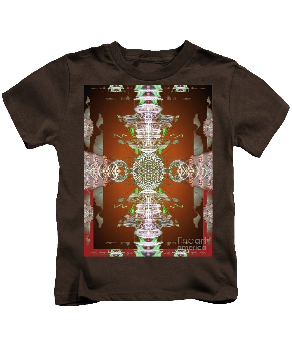 Angel Kids T-Shirt featuring the digital art Kore by Raymel Garcia
