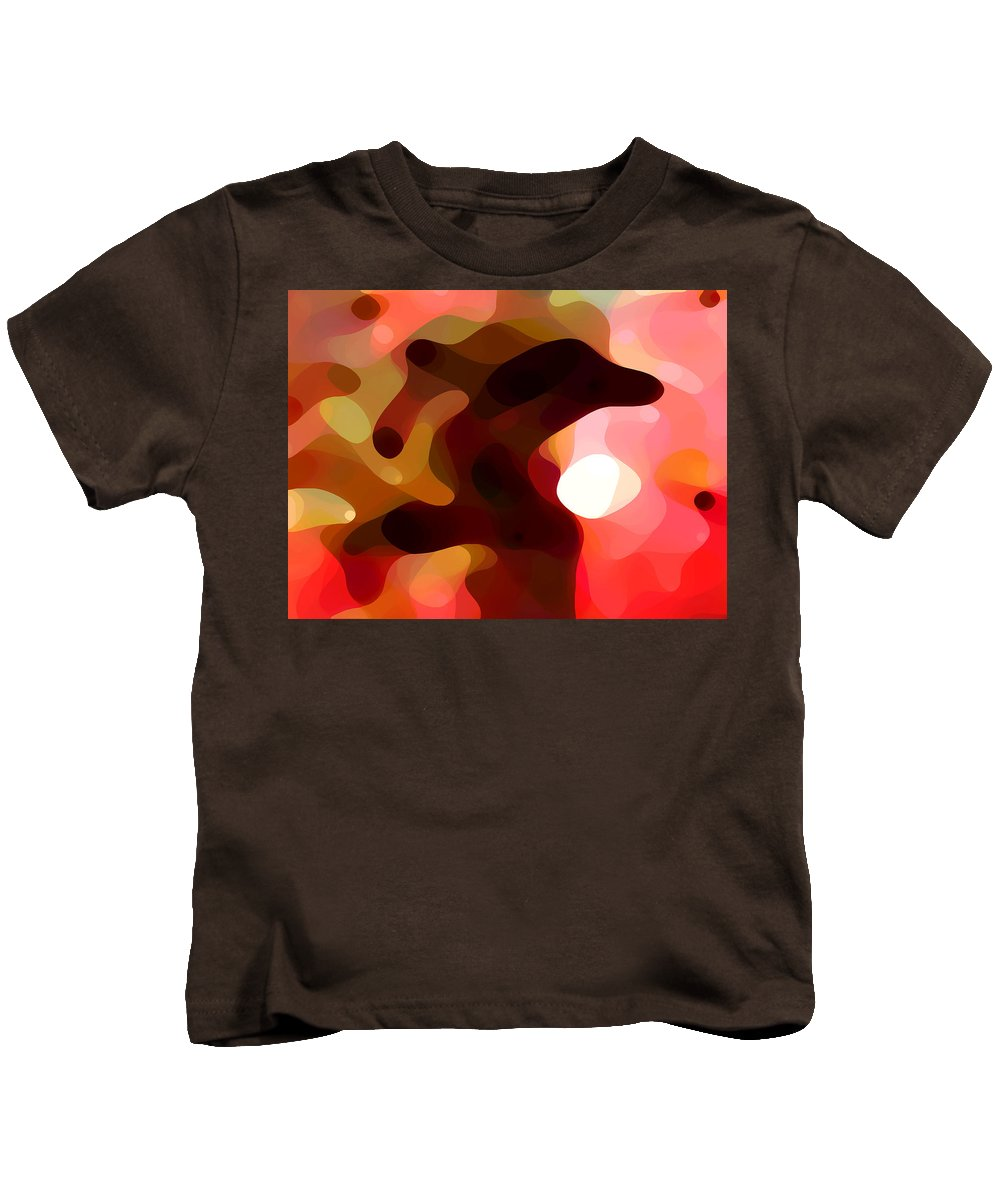 Bold Kids T-Shirt featuring the painting Las Tunas by Amy Vangsgard