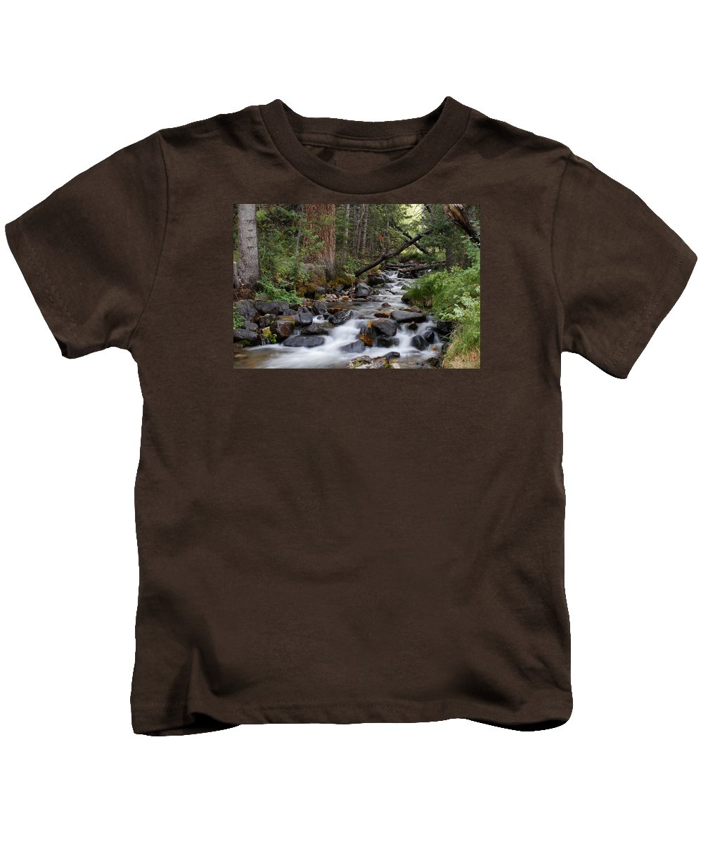Creek Kids T-Shirt featuring the photograph Lehman Creek In Great Basin National Park by Rick Pisio