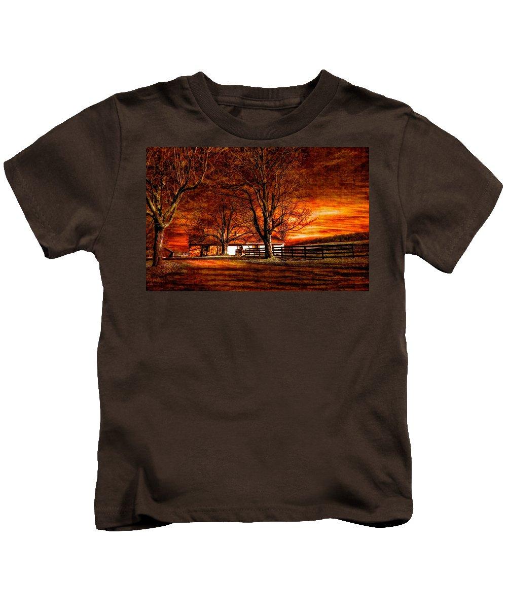 Farm Kids T-Shirt featuring the photograph Limbo II by Steve Harrington